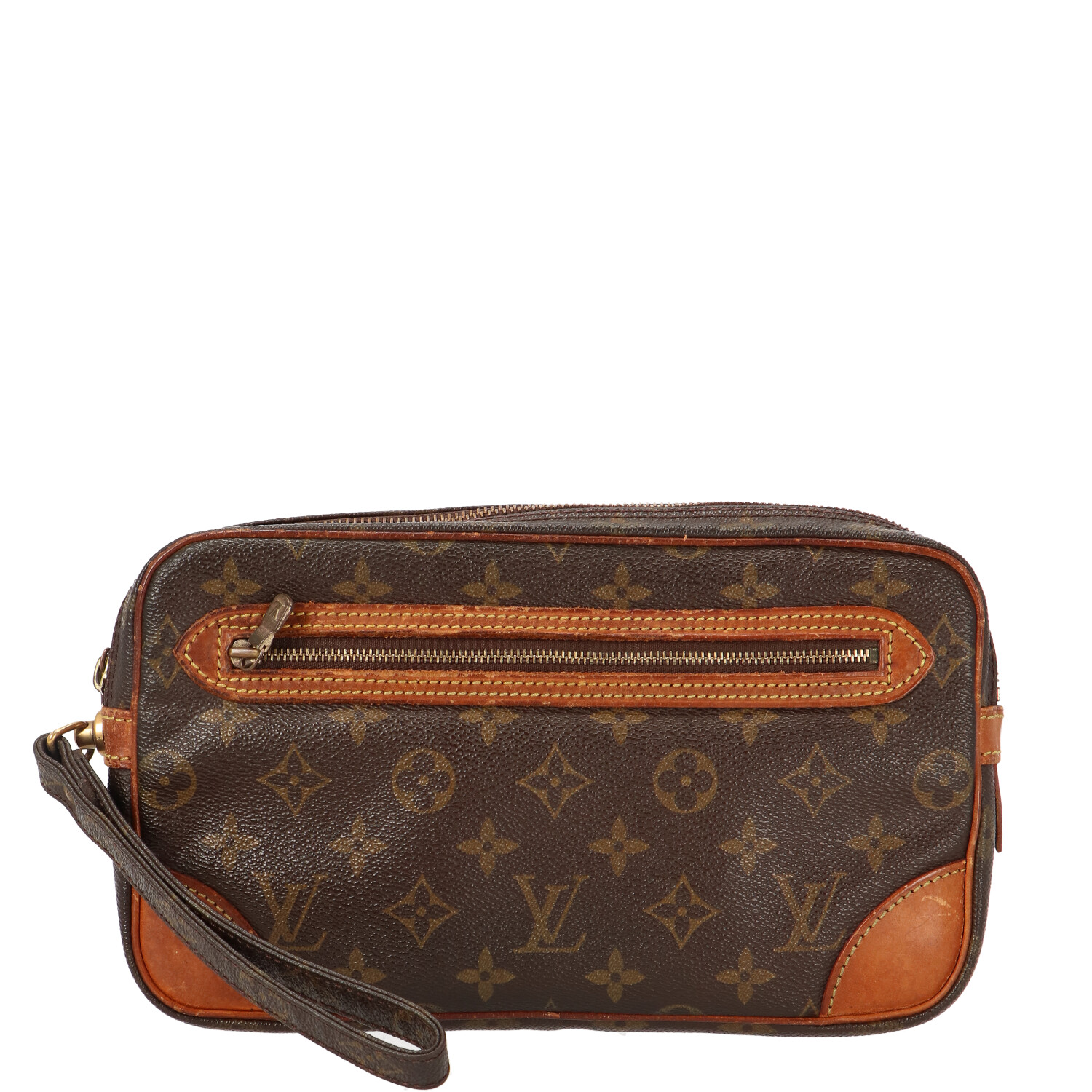Monogram Canvas Marly Dragonne Clutch
