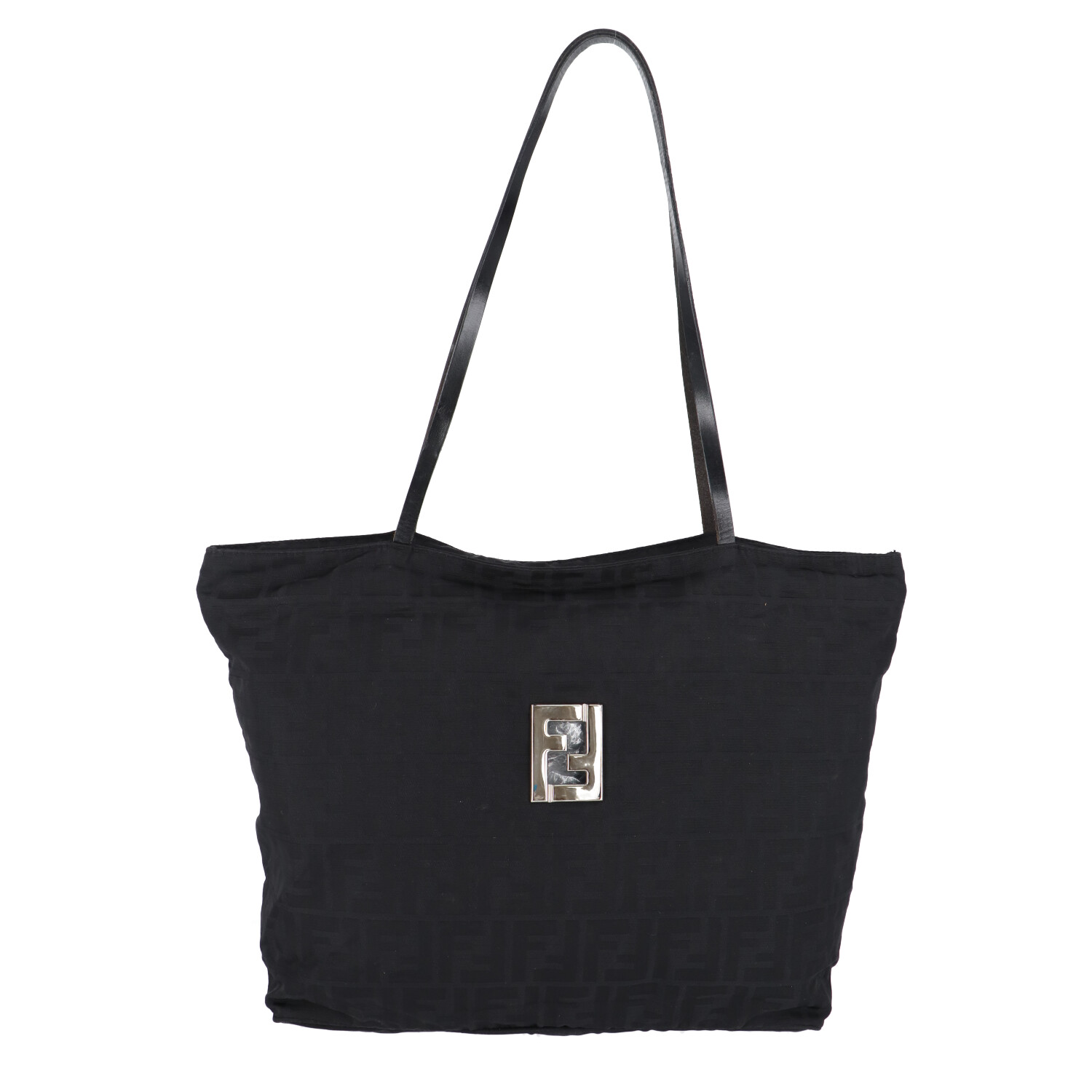 Black Zucca Canvas Shoulder Bag