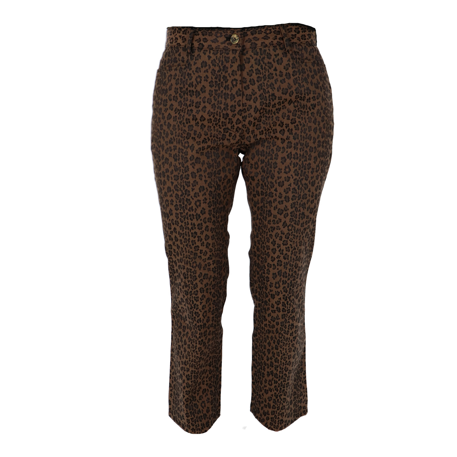 Fendi Animal print Fabric Pants