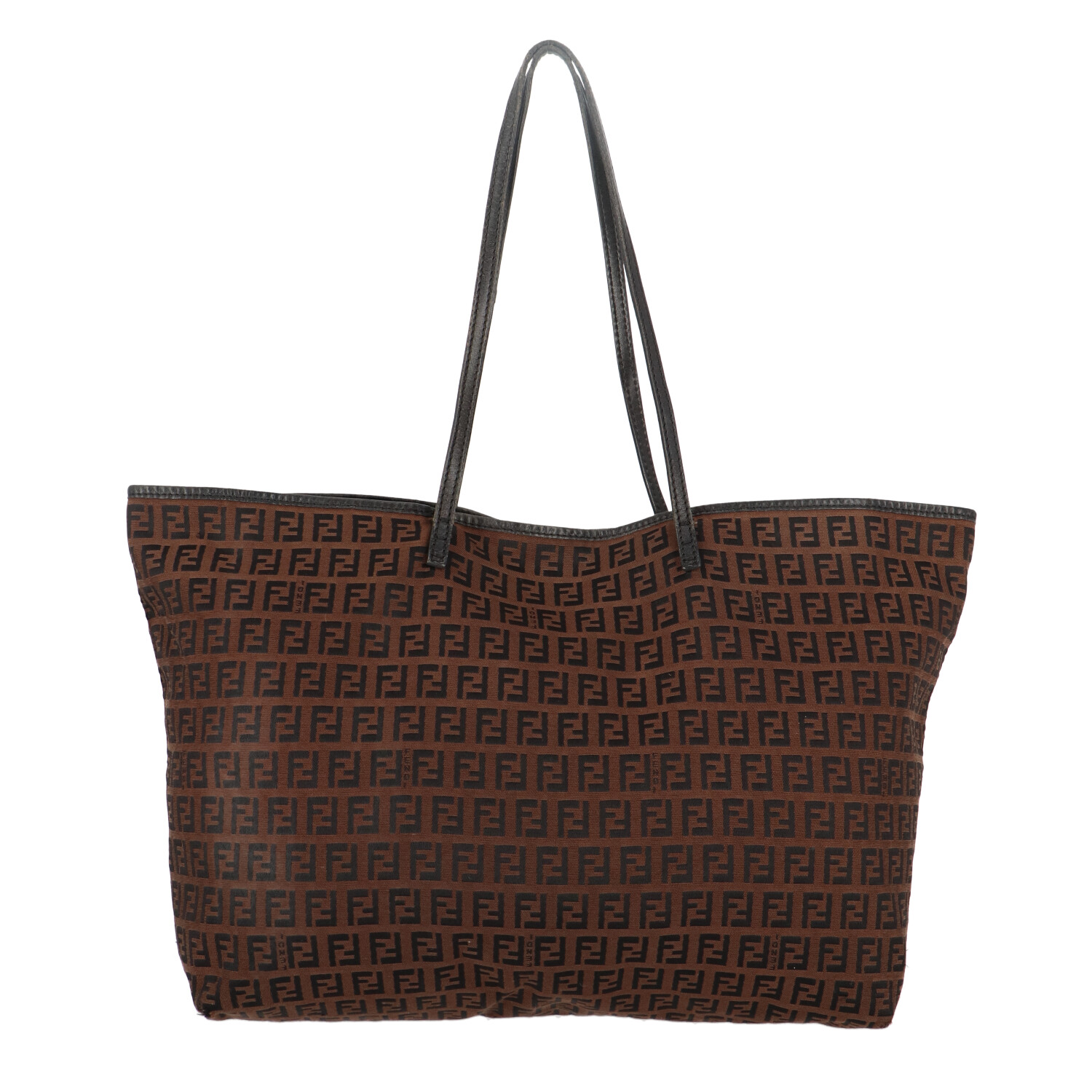 Brown Zucca Canvas Shopper