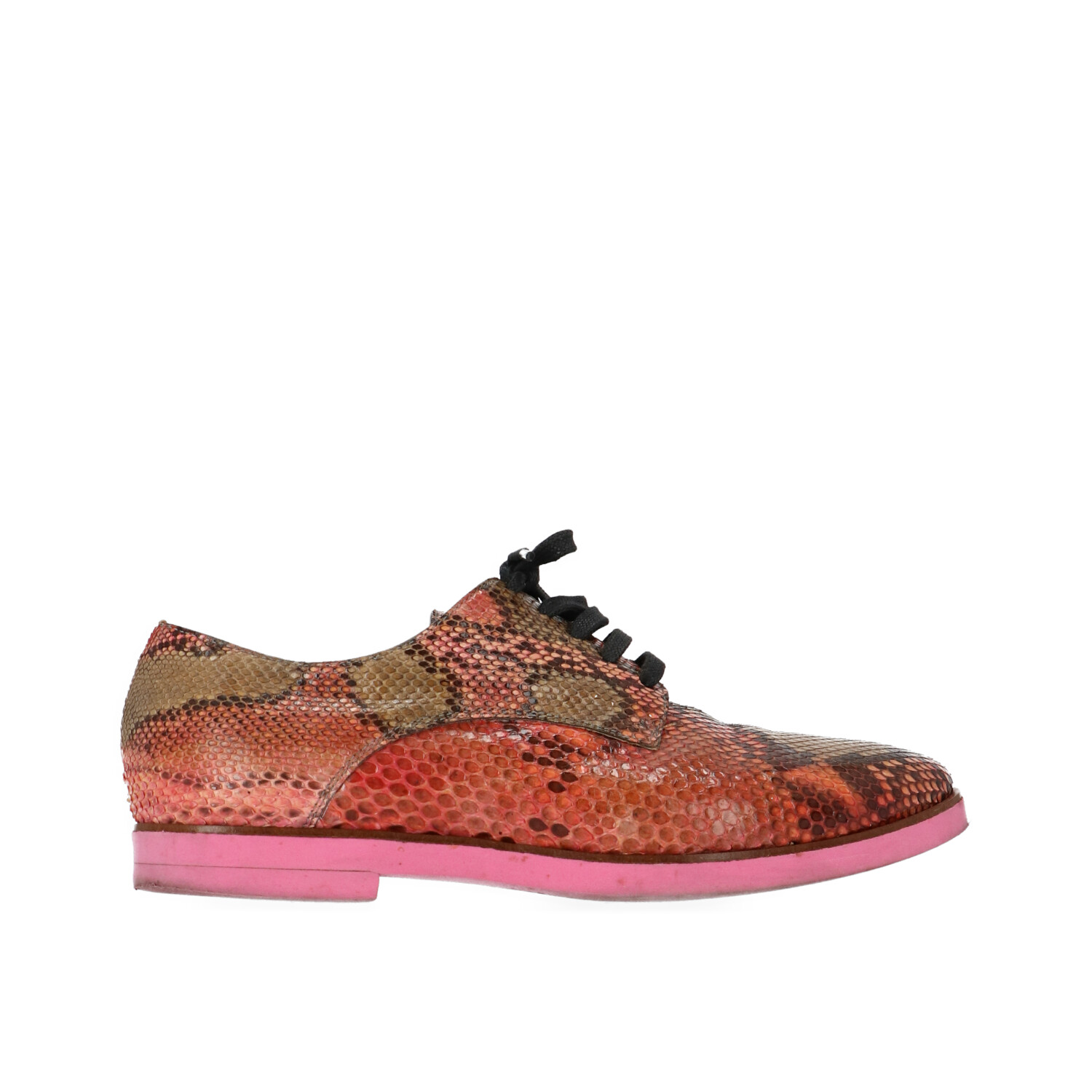 Red Snakeskin Shoes