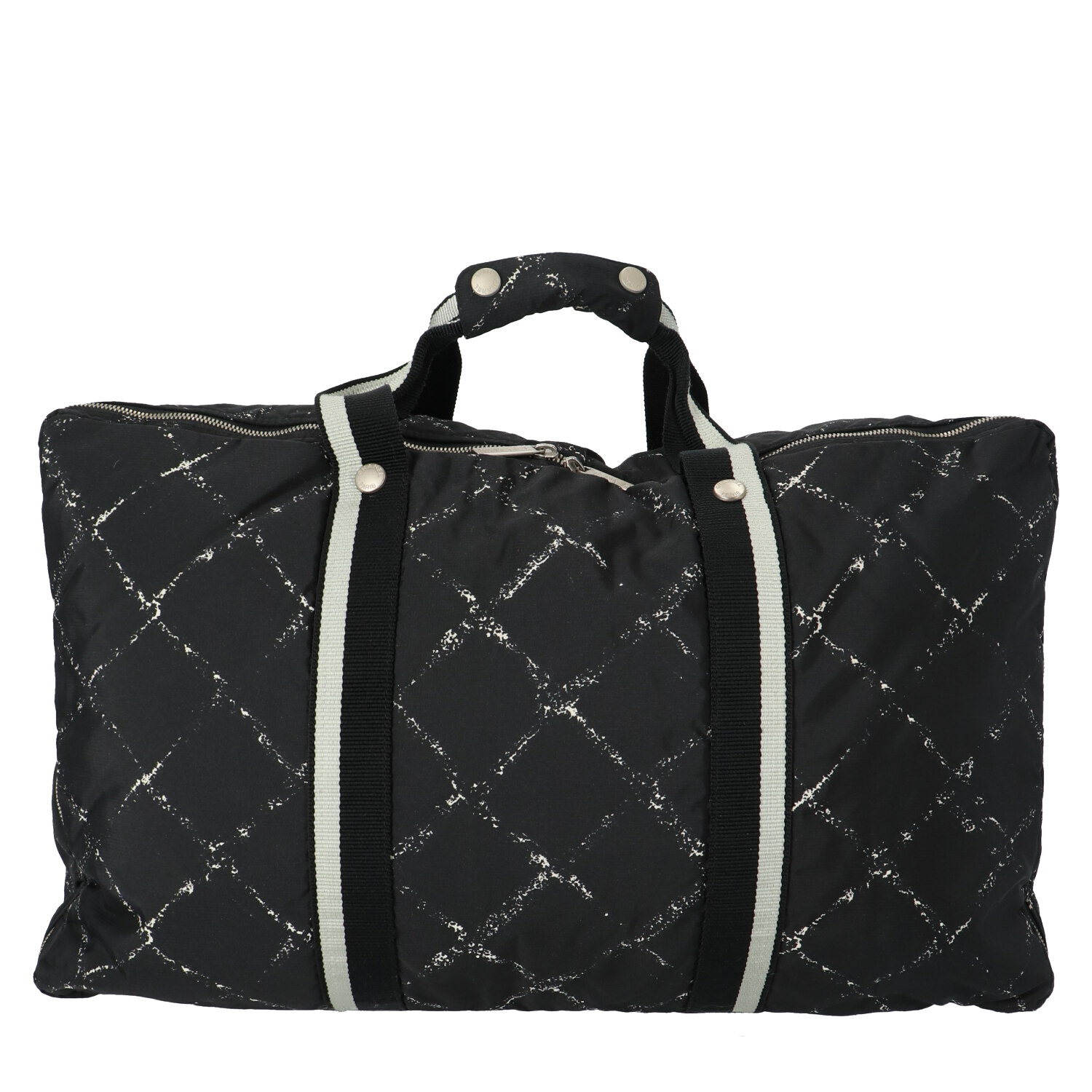 Chanel Black Old Travel Line Collection Carry-On