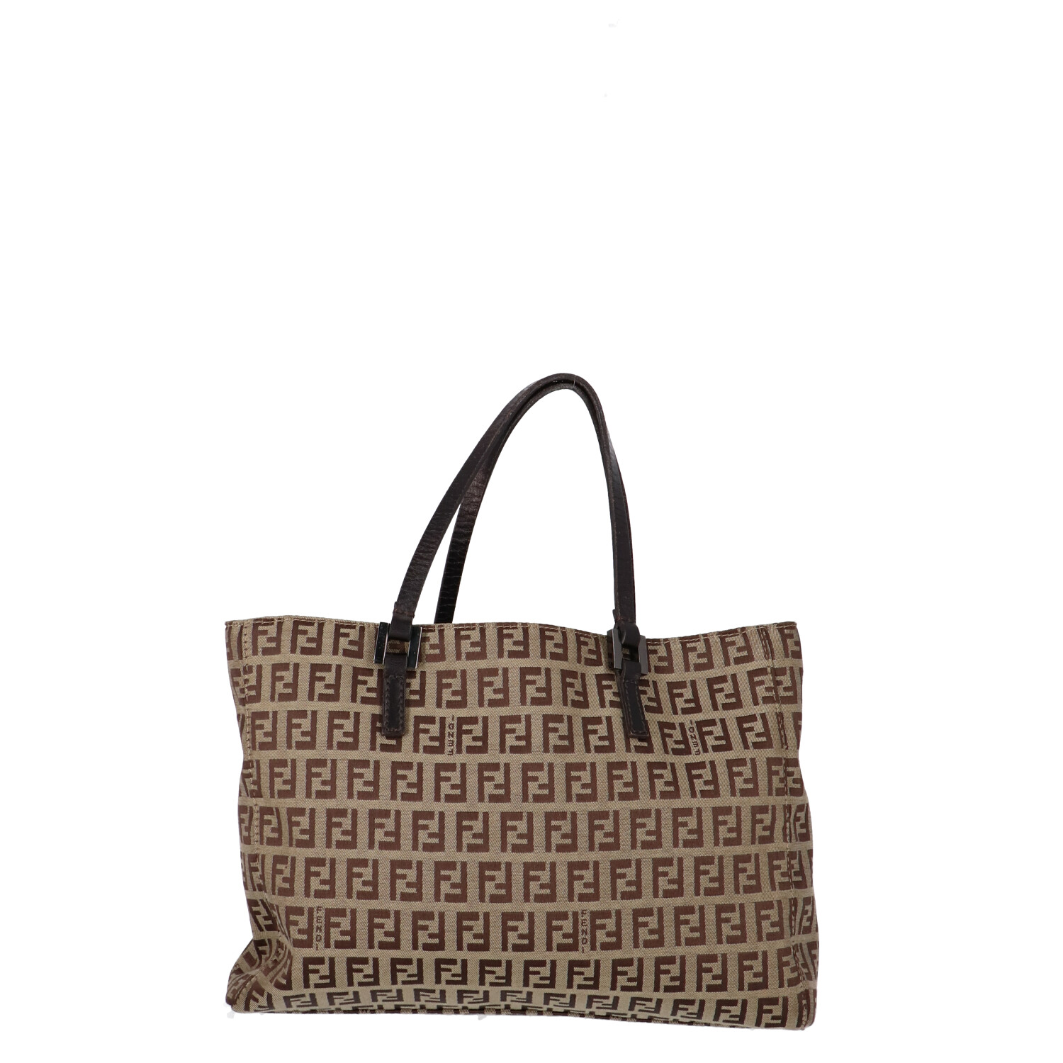 Fendi Brown Zucca Canvas Handbag