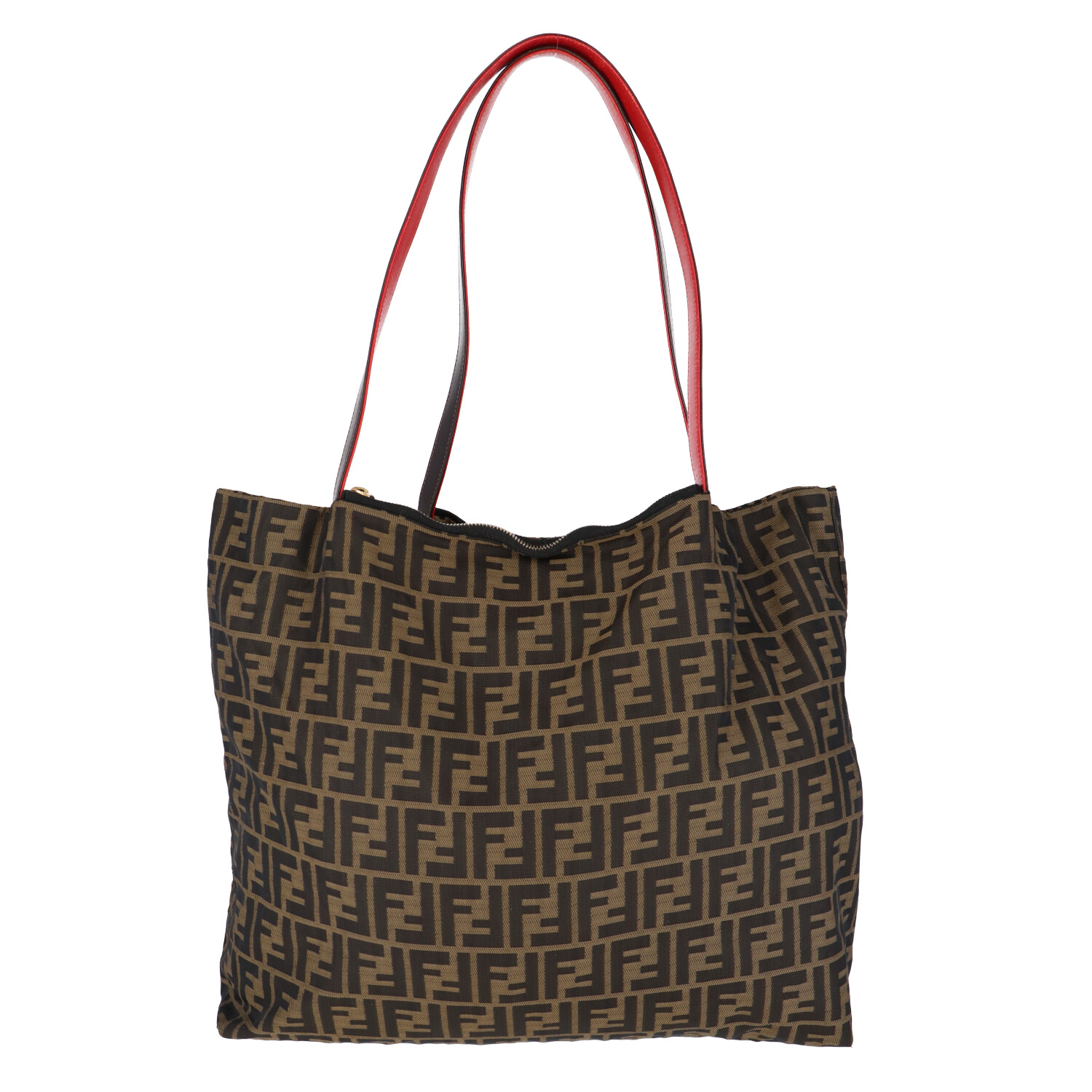 Reversible Leopard and Zucca Canvas Weekender