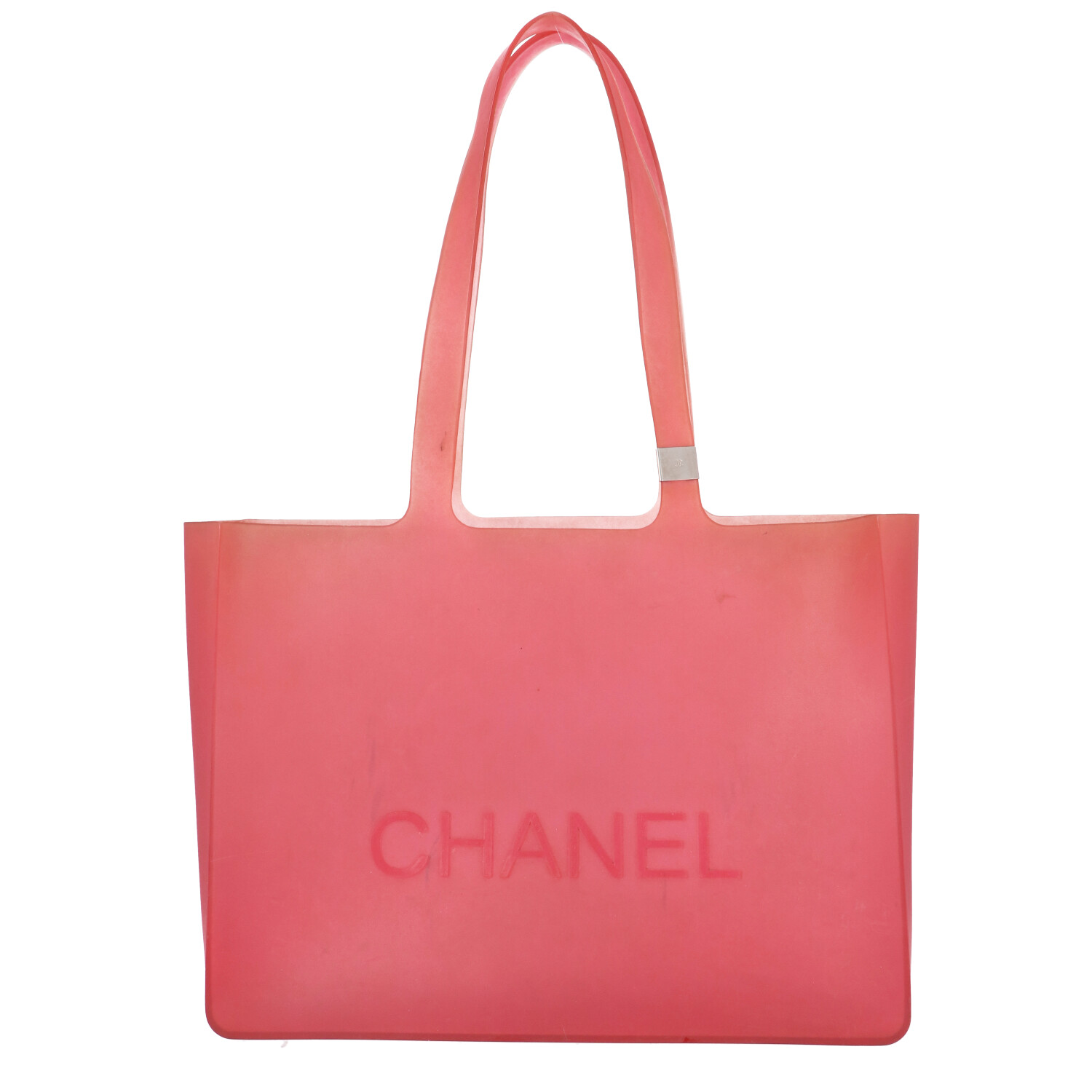 Red Rubber Tote