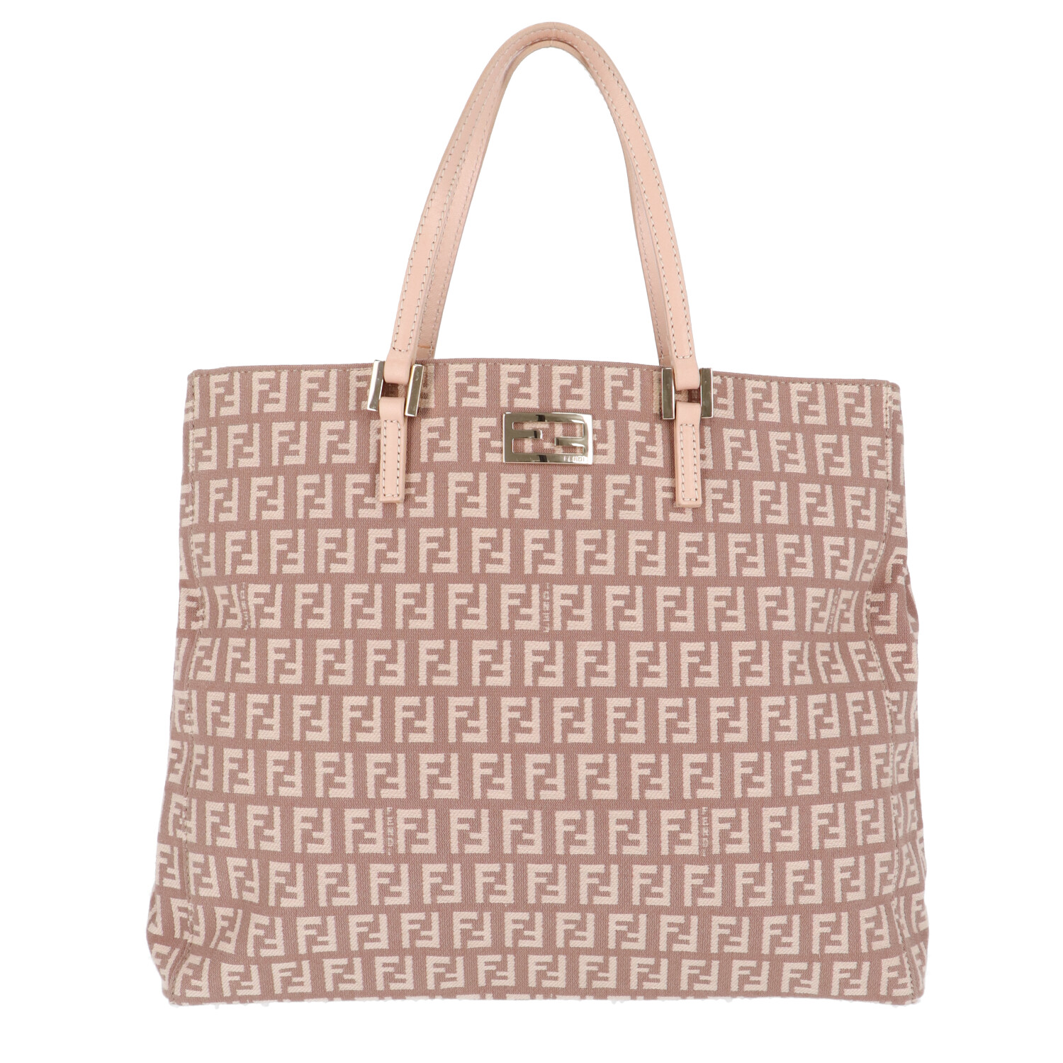 Pink Zucca Canvas Shoulder Bag