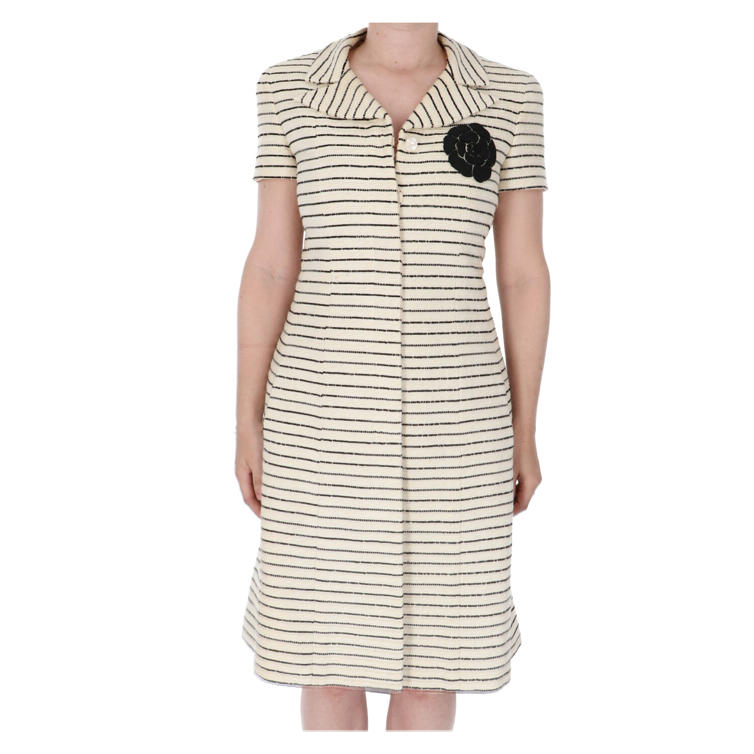 Chanel Beige Tweed Blazer Dress