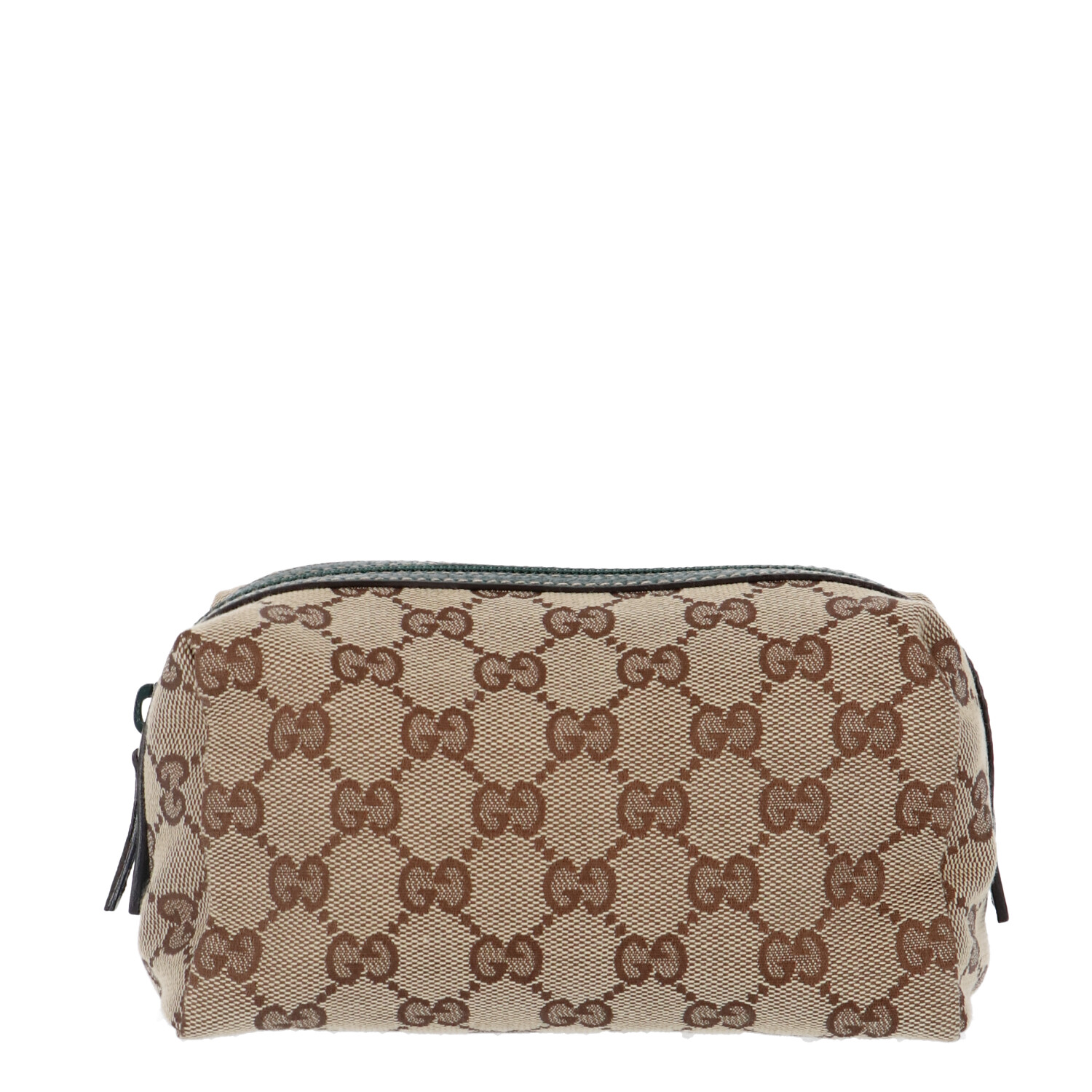 Gucci Brown Calfskin Leather Shoulder Bag