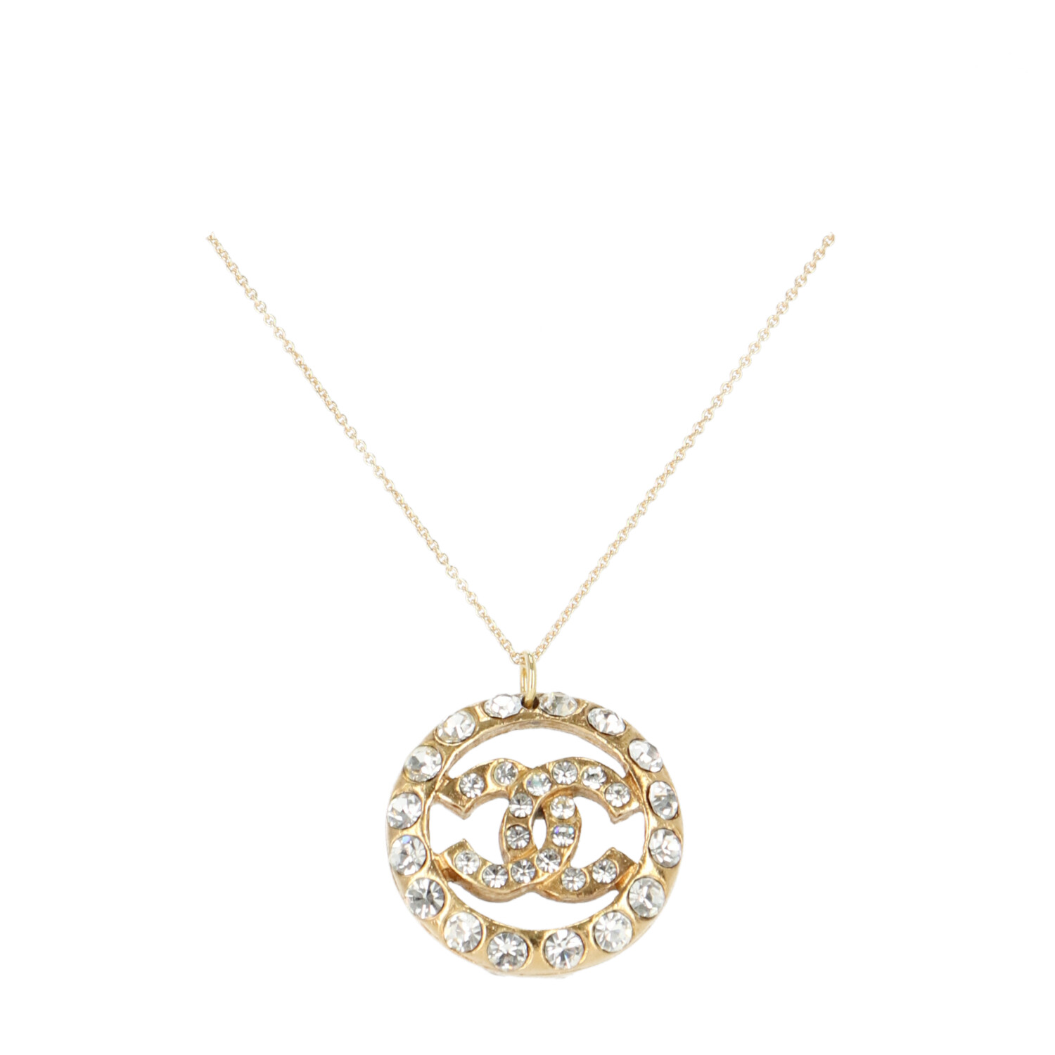 Chanel Gold TVB Repurposed Necklace